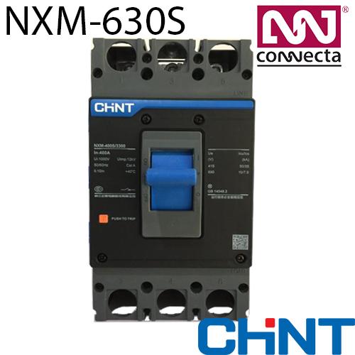 Силовий автоматичний вимикач NXM-630S/3Р 400A 50кА у відлитому корпусі