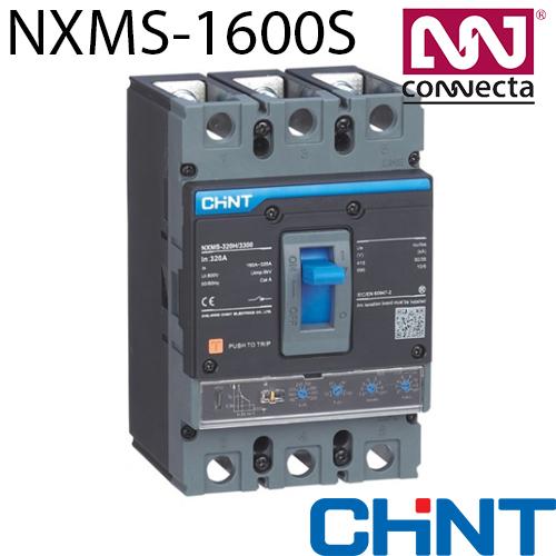 Автомат NXMS-1600S/3Р 1600A 50кА з електронним розчіплювачем