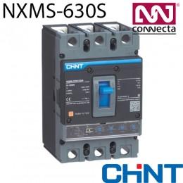 Автомат NXMS-630S/3Р 630A 50кА з електронним розчіплювачем
