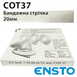 Стрічка стальна бандажна COT37