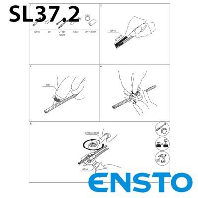 Плашковий затискач SL37.2 (10-95)/(10-95)