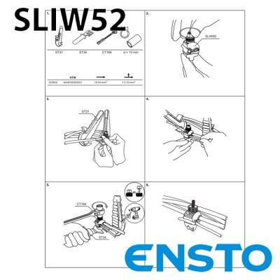 Проколюючий затискач SLIW52 (16-150)/(1,5-10) герметичний