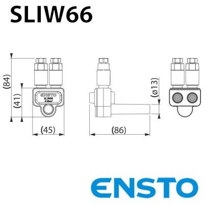 Розгалуджуючий проколюючий затискач SLIW66 2х(6-35)