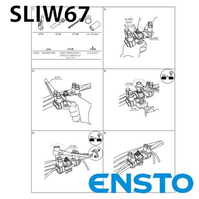 Розгалуджуючий проколюючий затискач SLIW67 4х(6-35)