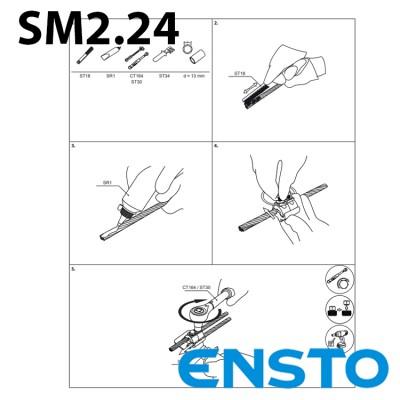 Затискач зєднувальний SM2.24 (16-120)/(6-35)