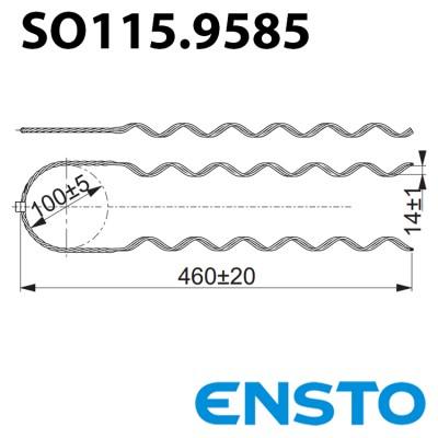 Вязка спіральна SO115.9585 для кріплення кабеля до ізолятора