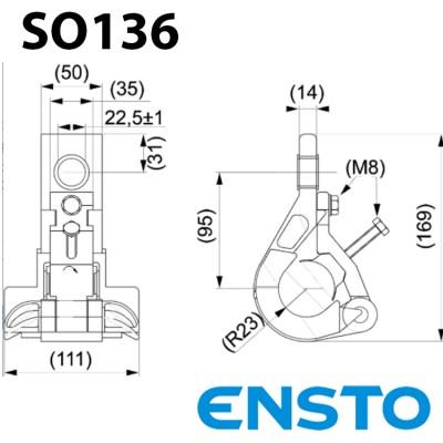 Посилений підтримуючий затискач SO136