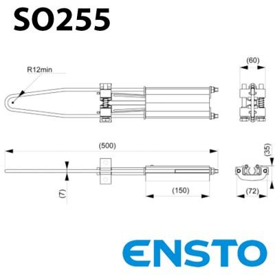 Анкерний затискач SO255 для СІП-3(35-70)