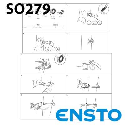 Кронштейн SO279 для абонентських відгалужень