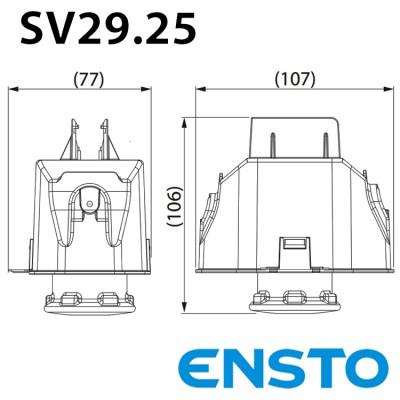 Корпус для запобіжника SV 29.25