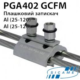 Плашковий затискач PGA402GCFM