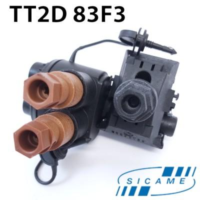 Затискач відгалуджувальний 25-95/2х(6-35)) TT2D83F3