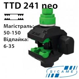 Проколюючий затискач з двостороннім проколом (50-150/6-35) TTD241neo